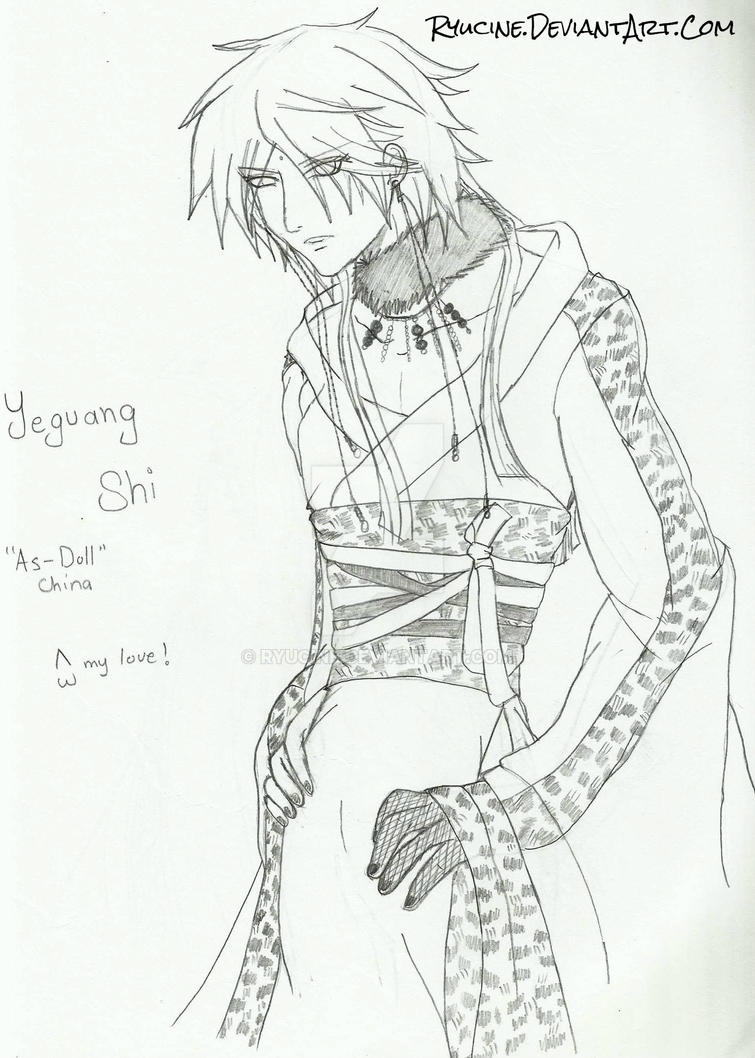 Ye Anime Style by RyuCine