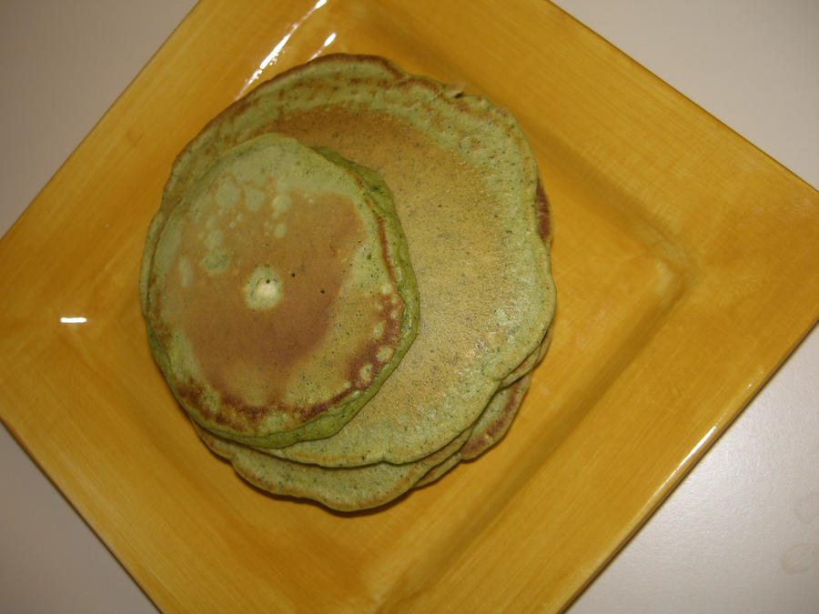 Green Tea Pancakes by DavisJes