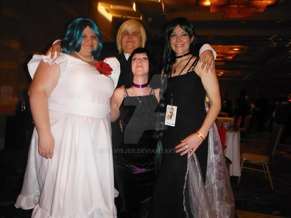 Outer Senshi Prom by DavisJes