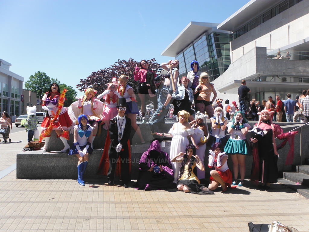 Sailor Moon Group by DavisJes