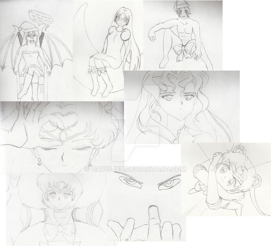 Yule Gift sketches by DavisJes
