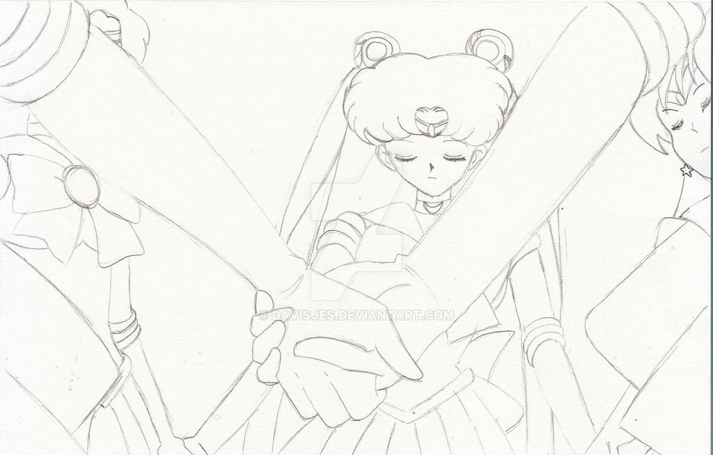 Sailor Teleport sketch by DavisJes