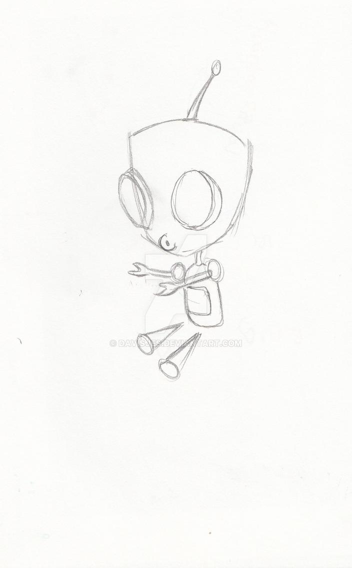 Gir sketch by DavisJes