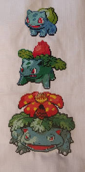 Bulbasaur Ivysaur Venusar