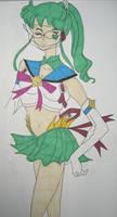 Sailor Jupiter Original Fuku by DavisJes