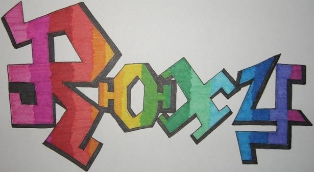 Roxy Graffiti by DavisJes