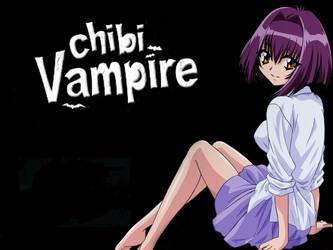 Chibi vampire wallpaper by Hikarusind0