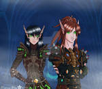 Warlock VS Rogue
