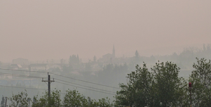 Smoke in Labrador City