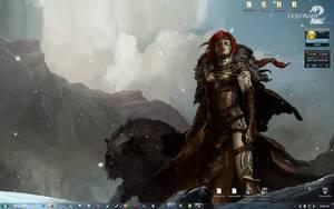 my windows 7 desktop by spoofshadow