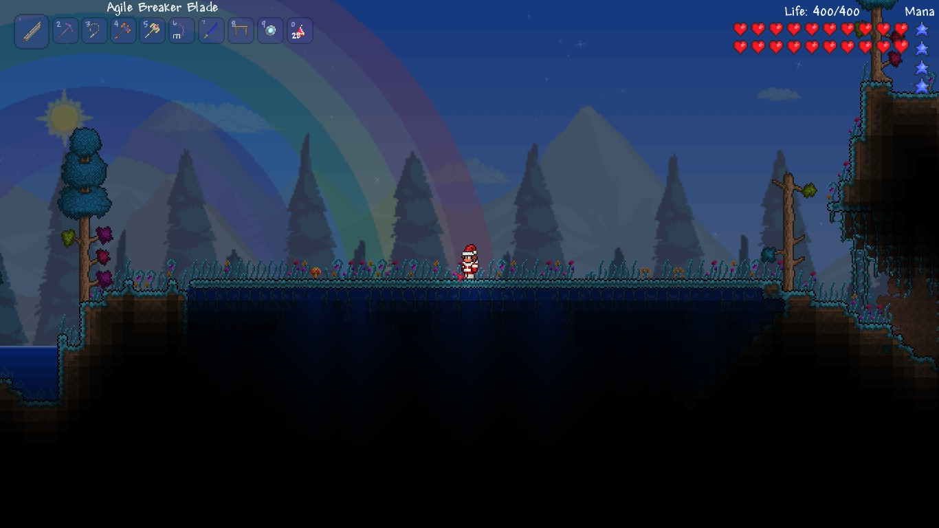 how to get the hollow in terraria