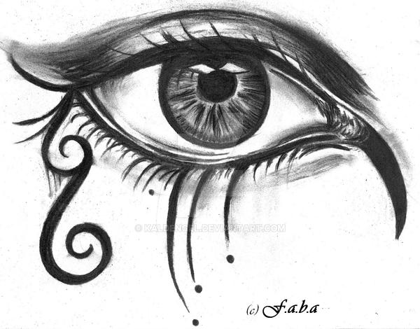 Gothic eye by kaldengel on DeviantArt