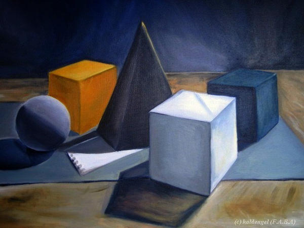 Geometric still life by kaldengel