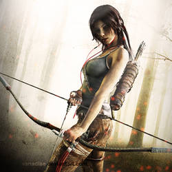 Lara Croft 4 by vanadise