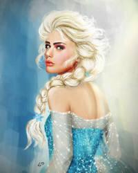 Snow Queen Elsa by vanadise
