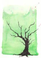 Summer tree by MeaeK