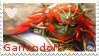 Hyrule Warrior Ganondorf stamp by DragonEmpress666