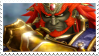 Ganondorf Hyrule Warrior stamp 2 by DragonEmpress666