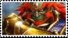 Ganondorf Hyrule Warrior stamp 2 by DragonEmpress666