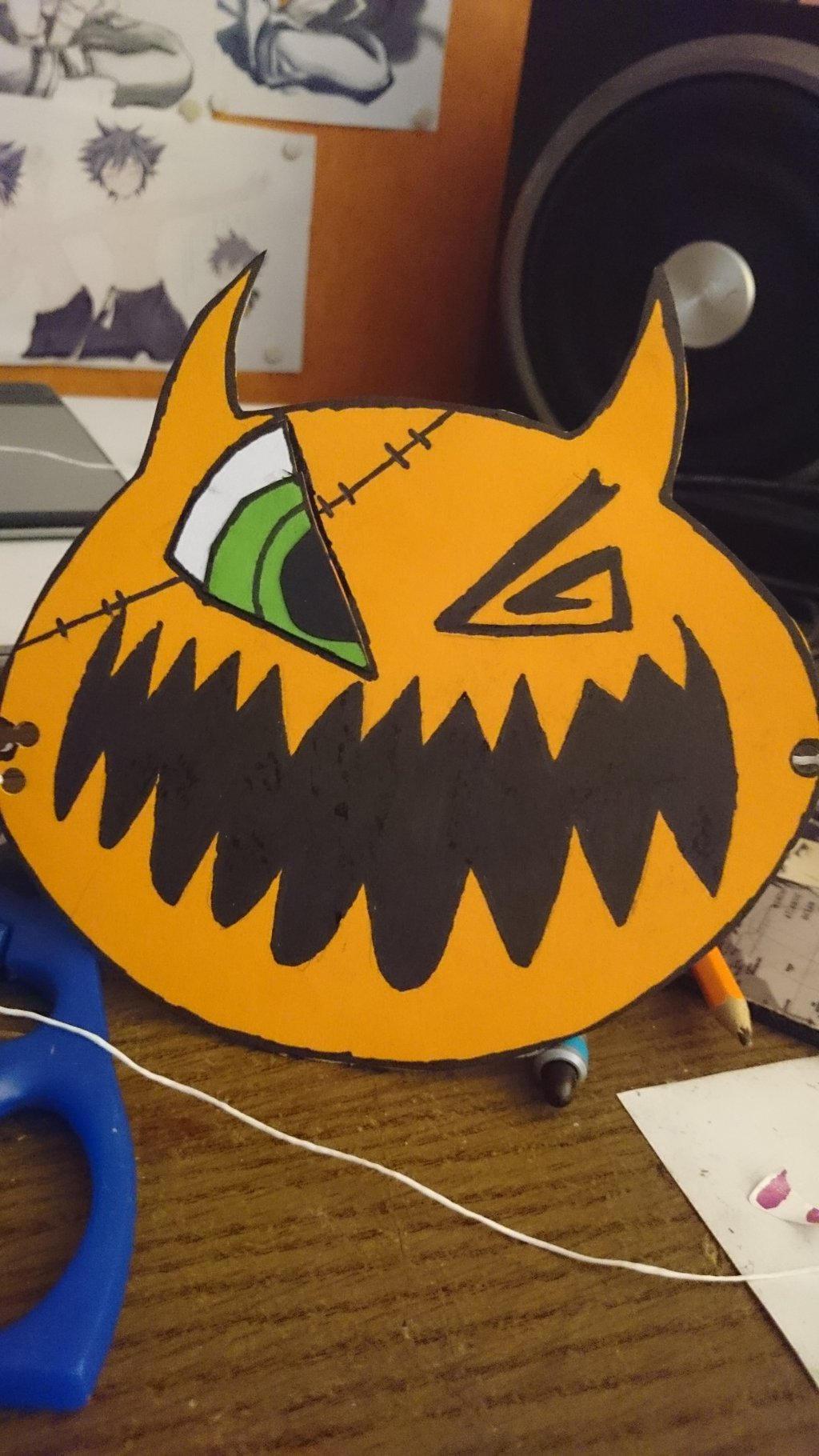 Halloweentown Sora's mask by DragonEmpress666 on DeviantArt