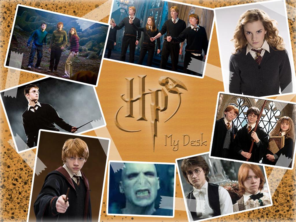 Harry Potter desk by Hermionina