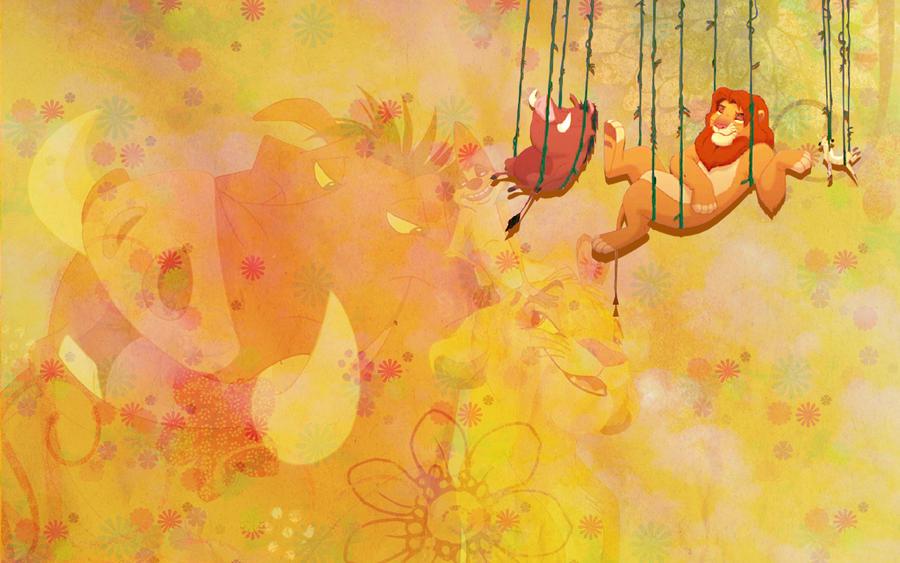 Wallpaper Hakuna Matata by Hermionina on DeviantArt