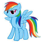 Rainbow Dash - Vector