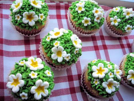 Spring cupcake I