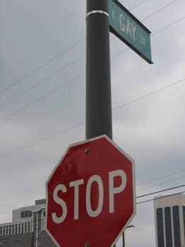 STOP GAYNESS AHEAD