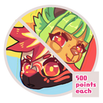 chibi icons ! // point comms now open! by five-star-tuna