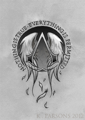 Assassin S Creed Logo Tattoo Commission By Kerae On Deviantart