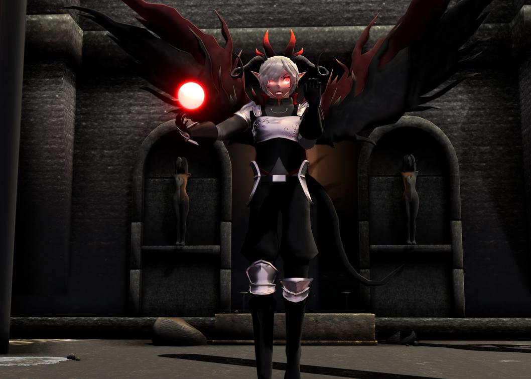 Dark lord Nekron by Digelfox