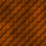 Brushed copper - snake scales