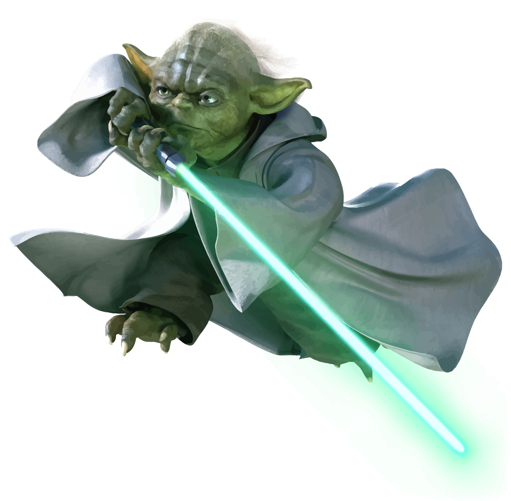 Yoda Vector by anubis55