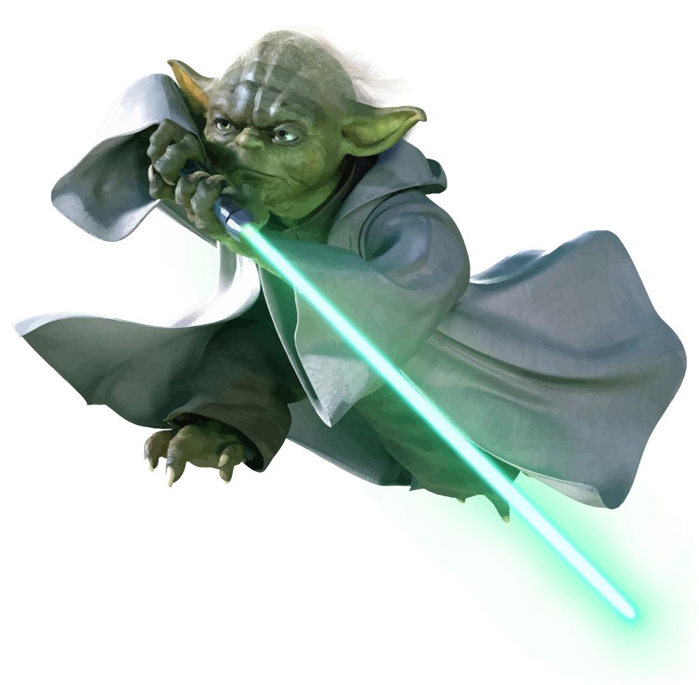 Yoda Vector by anubis55