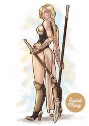Valkyrie - Marvel Fanart by hitomi--i