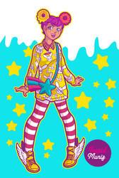 Donut Girl by hitomi--i