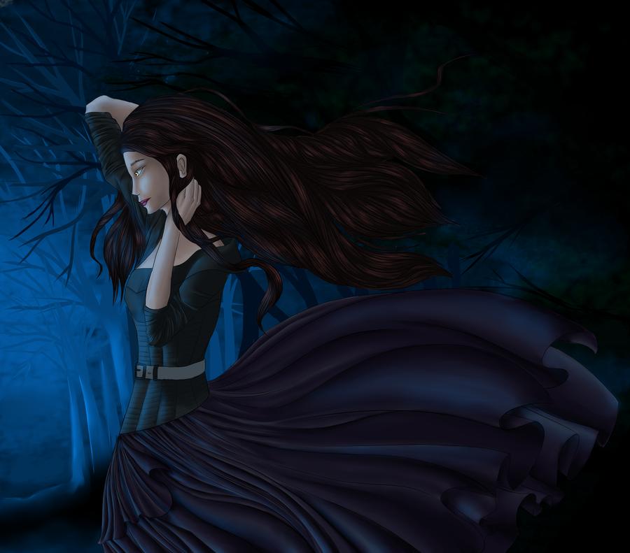 Lena the Dark Caster by Saphira6666