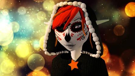 La muerte ( 3D Project) by ArielleKami