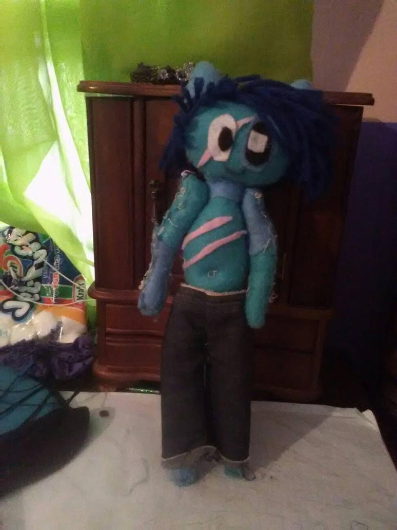 Le shirtless Maxy Doll by MyHopesAndDreams15