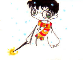 Snow Harry by Meichu