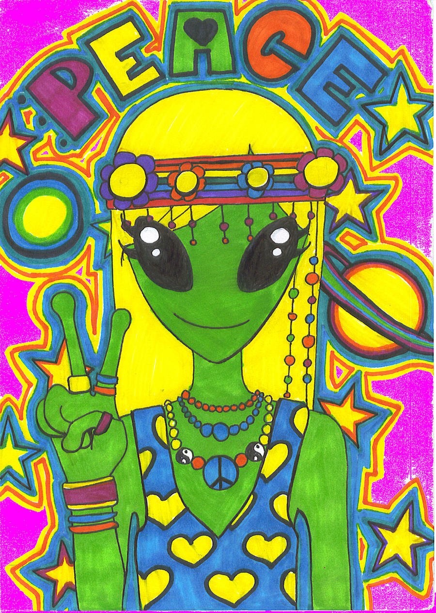 art aliens psychedelic - photo #14