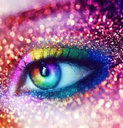 Rainbow dust by EliseEnchanted