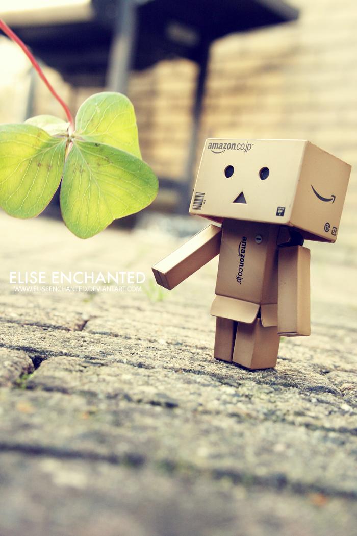 Lucky danbo by EliseEnchanted