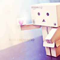 the companion cube by EliseEnchanted