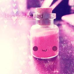 Bottle of love by EliseEnchanted