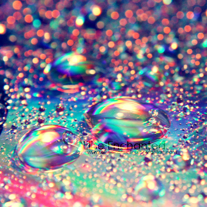 Scatterd rainbow by EliseEnchanted