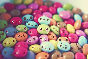 Cute faces wallpaper