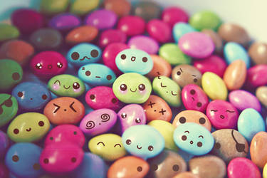 Cute faces wallpaper