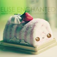 Happy cake by EliseEnchanted